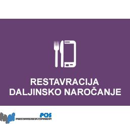 MatricaPOS Restavracija + Daljinsko Naročanje